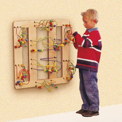 Houten Kralentafel Flat Corner - Joy-Toy (01.09040)
