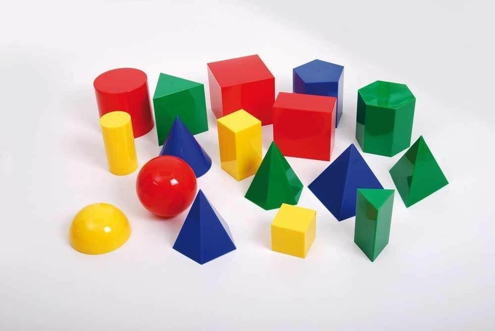 Grote Geometrische Vormen - Set van 17