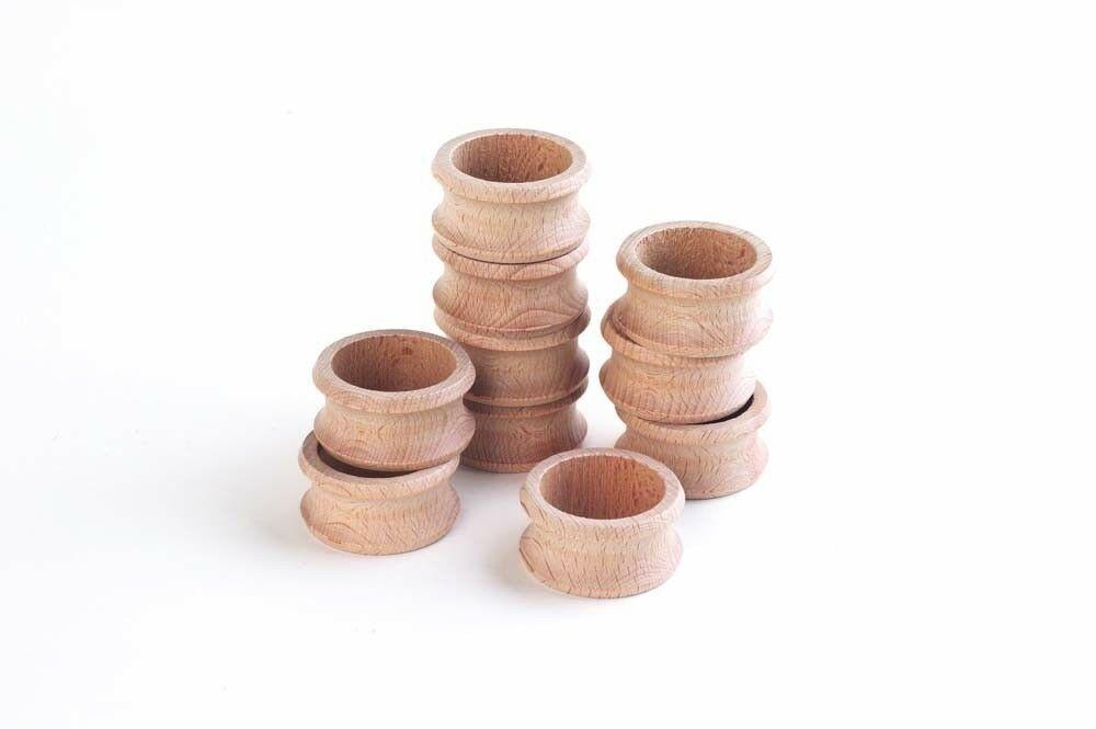 """Houten servet ringen   set van 10 het woord heuristisch is afgeleid van het griekse woord """"eurisko"""" ..."""