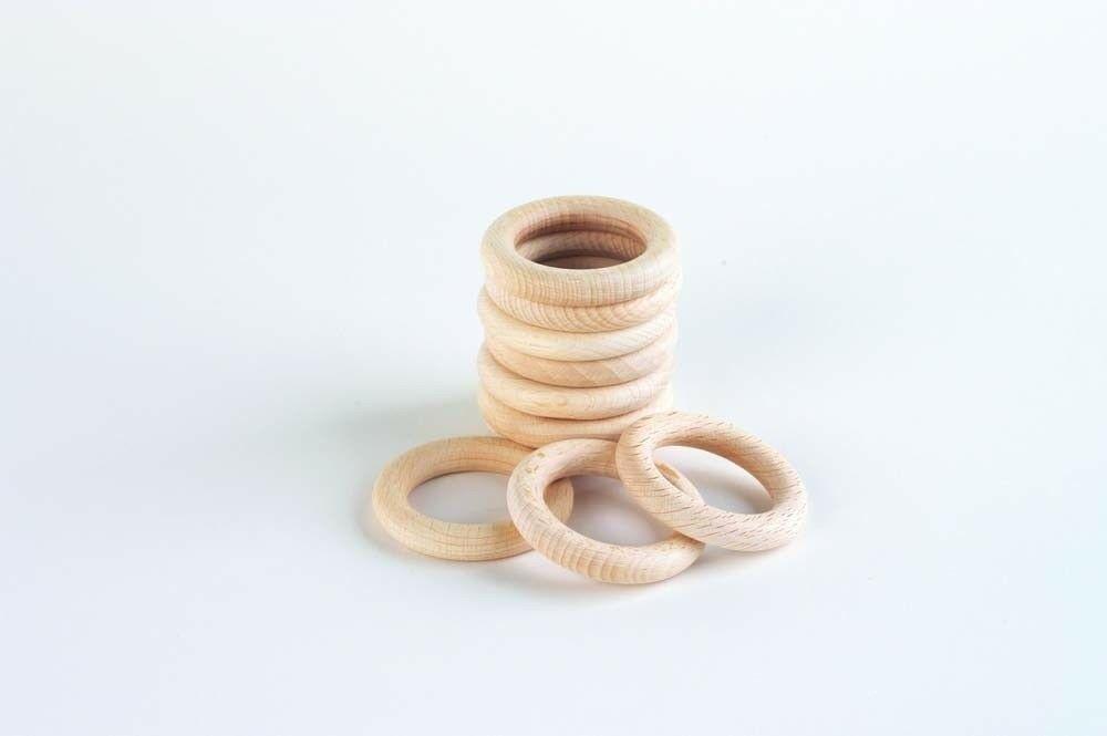 """Grote houten ringen   set van 10 het woord heuristisch is afgeleid van het griekse woord """"eurisko"""" ..."""