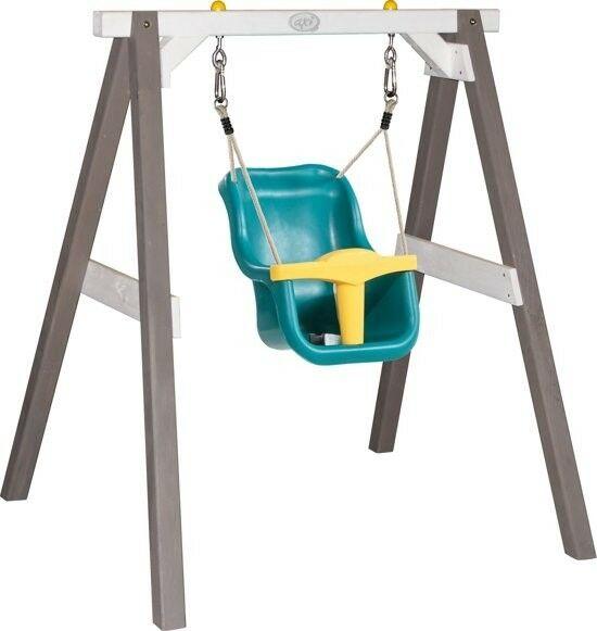Baby Schommel Grijs/wit met zitje - AXI (A030.301.01)