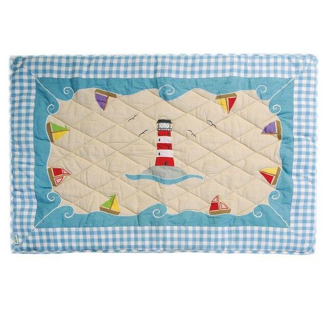 Beach House Playhouse Quilt (klein) - Win Green (1302)