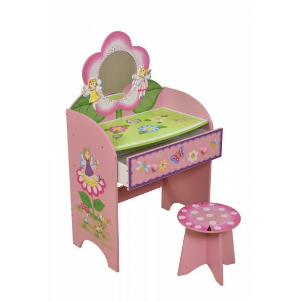 Kaptafel Voor Kinderen.Fairy Kaptafel Met Kruk Lht10042 Per Sempre Toys