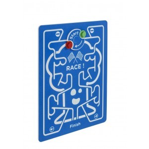 Speelpaneel Race - Blauw - 735 x 98 cm