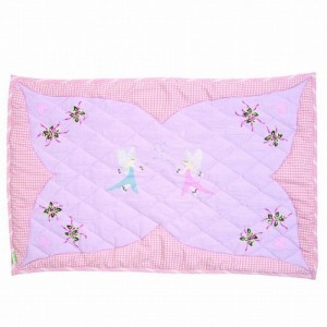 Fairy Cottage Floor Quilt (groot) - Win Green (1204)