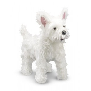 Grote Pluche West Highland Terrier Sprinkles