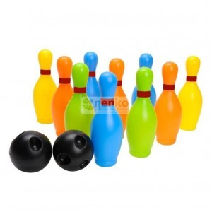 Gekleurde Bowlingset