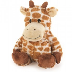 Verzwaarde verwarmbare knuffel - Giraffe (30407)