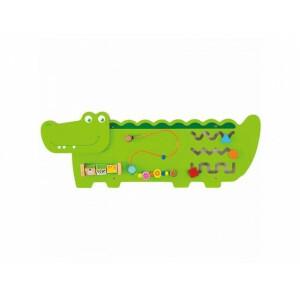 Activity Center - Wandspeelbord Krokodil