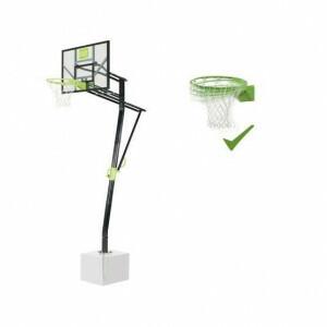 Exit Galaxy Basketbalbord Voor Grondmontage Met Dunkring - Groen/Zwart