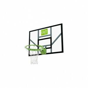 Exit Galaxy Basketbalbord Met Dunkring En Net - Groen/Zwart