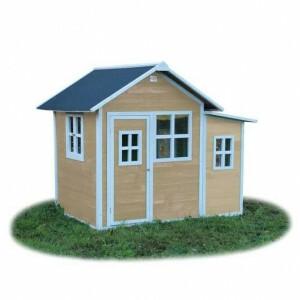 Loft 150 houten speelhuis - naturel - Exit (50.02.11.00)