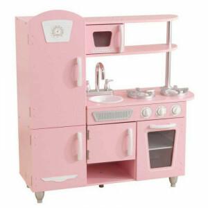 Vintage Speelkeuken - Roze