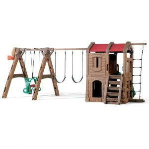 Avontuurlijke Lodge Speeltoestel - Step 2 (801300)