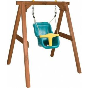 Baby Hemlock hout Bruin Schommel zitje - AXI (A030.301.00)
