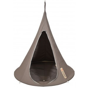 Hangende tent Cacoon Taupe 1 persoon