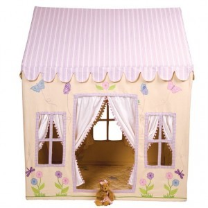 Butterfly Cottage Playhouse (klein) - Win Green (1103)