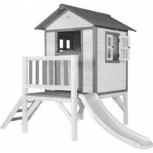 AXI Beach Lodge XL Speelhuis Klassiek - Witte Glijbaan C050.002.90