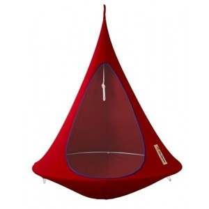 Hangende tent Cacoon Chili Red 1 persoon