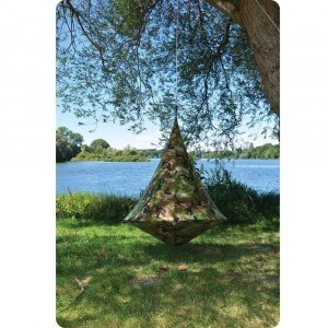 Hangende tent 1 persoon Camouflage - (Cacoon)
