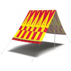 Zonnenschermdoek 'Cirque Du Sol' - FieldCandy (SS.CDS.Y)