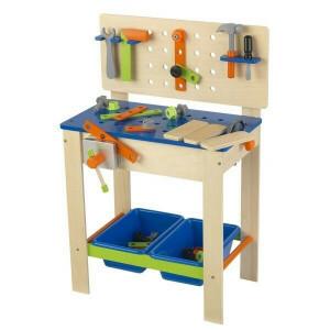 Deluxe werkbank met gereedschap - Kidkraft (63329)