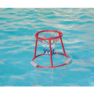 Drijvende basketbalstandaard