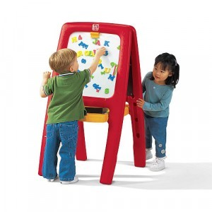 Easel for two Schoolbord - Step2