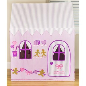 Gingerbread Cottage & Sweet Shop Speelhuis + Quilt (Groot)