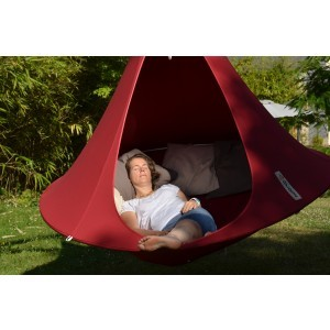 Hangende tent (Chili Red) 2 personen - Cacoon (DR005)
