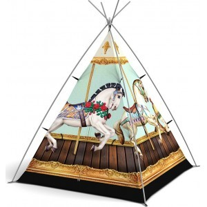 Wigwam Hold Your Horses - Little Camper (FieldCandy)