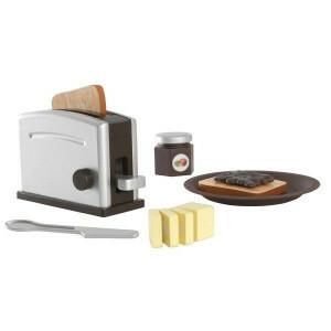 Houten Espresso Broodroosterset - Kidkraft (63373)