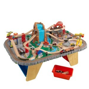 Houten Waterval Junction Treinset en Tafel - Kidkraft (17498)
