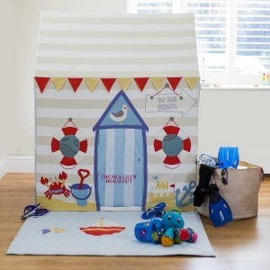 Beach Hut & Seaside Speelhuis (Groot) + Quilt