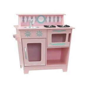 Klassiek speelkeukentje (roze) - Kidkraft (53383)
