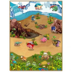 3DU Play Dino Playmat (kijk naar het filmpje!)