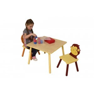 Jungle Tafel en Stoelen Set (MZ3868-N)