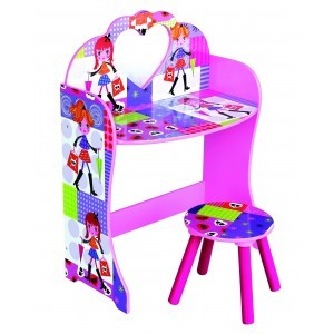 Fashion Girl Kaptafel en Kruk (MZ4616)