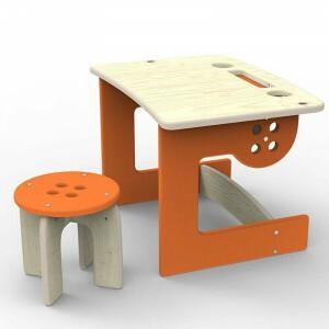 Kinderbureau Oranje, Button