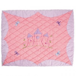 Princess Castle Floor Quilt (klein) - Win Green (PCKFQ)