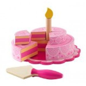 Roze feesttaart met lagen - Kidkraft (63382)