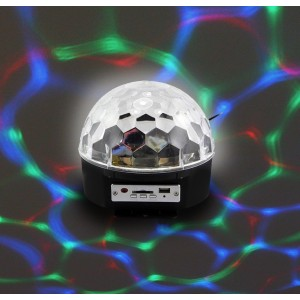 Discobal Met Speakers