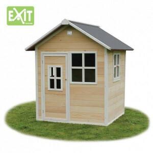 Houten Speelhuisje Loft 100 (natural) - EXIT (50.01.01.00)