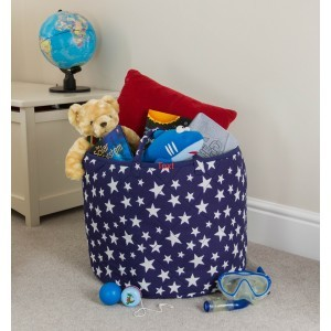 Star Toy Basket (Blauw) - Kiddiewinkles (BLUESTB)