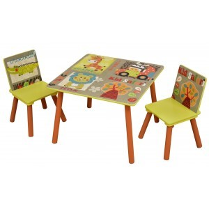 Kid Safari Tafel en Stoelenset (TF4808)
