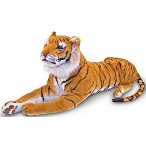 Grote Siberische pluche tijger Amur - Melissa & Doug (12103)