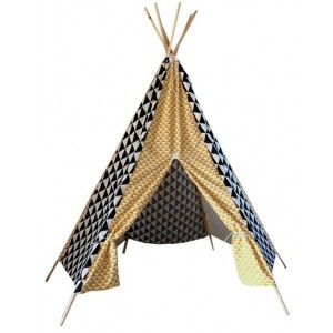Tipi Black & Sunset