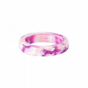 Chewigem Chewing Bangle - Roze Camo