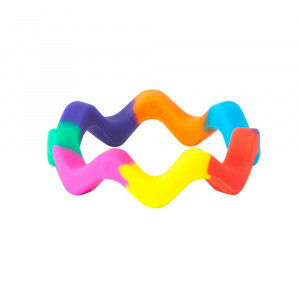 Chewigem Chewing Bangle - Sensory Rainbow Bangle Chewy Item