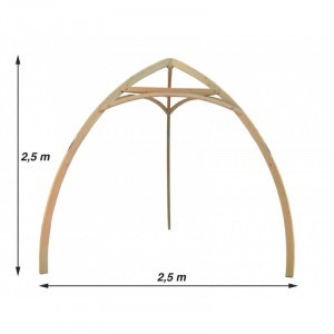 Cacoon Tripod Hout